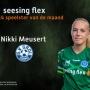 O14 Speelster van de maand september: Nikki Meusert