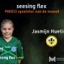 O13 speelster van de maand september: Jasmijn Huetink